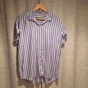 Beachlunchlounge button up shirt. Large.